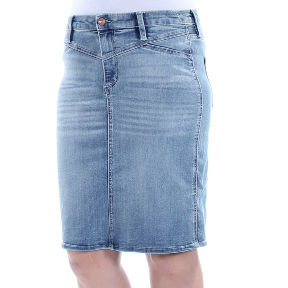 669ce2c1a3 Buffalo David Bitton Skirts | Buffalo Knee Length Denim Pencil Jean ...